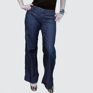 Citizens of Humanity Wide leg low rise size 31